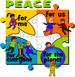 Peace clipart human race