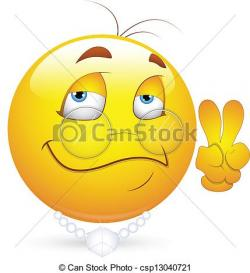 Peace clipart smiley
