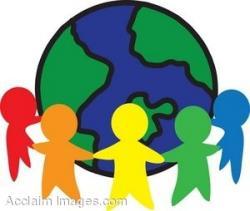 Peace clipart world unity