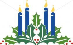 Iiii clipart advent candle