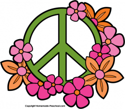 Hippies clipart peace dove