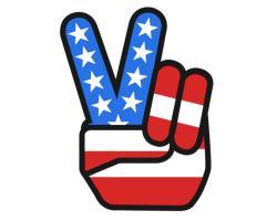 Peace clipart patriotic