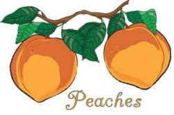 Peach clipart animated
