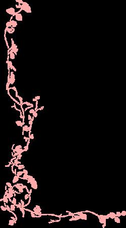 Peach clipart border