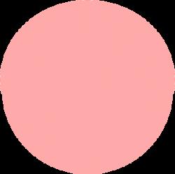 Peach clipart circle