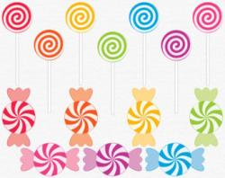 Cotton Candy clipart swirl candy