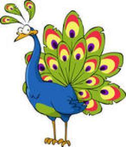 Peafowl clipart