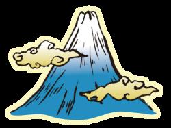 Mount Fuji clipart