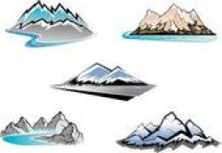 Peak clipart alps