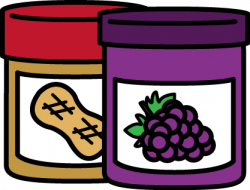 Jar clipart peanut butter and jelly