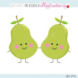 Pair clipart perfect pear