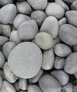 Pebbles clipart smooth stone