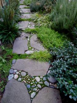 Pebbles clipart stone pathway