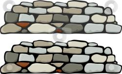 Pebble clipart wall