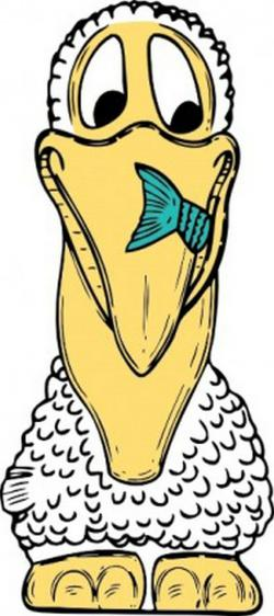 Pelican clipart face