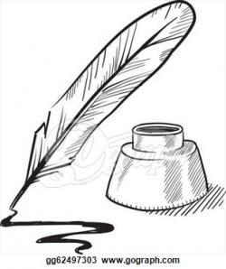 Quill clipart journalist