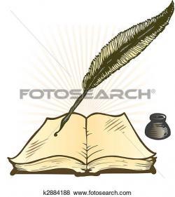 Pen clipart leaf