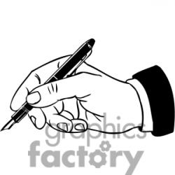 Pen clipart parent signature