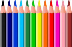 Pen clipart pencil crayon