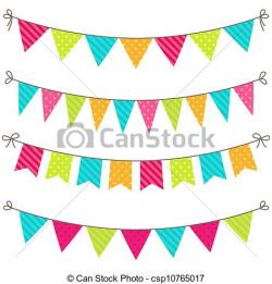 Pendent clipart banderitas