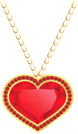 Pendent clipart beautiful heart
