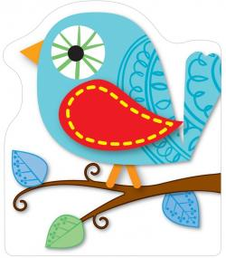 Triangle clipart boho bird