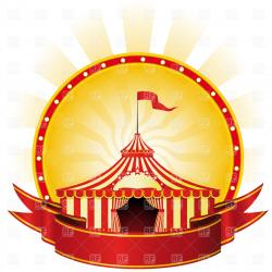Poster clipart circus