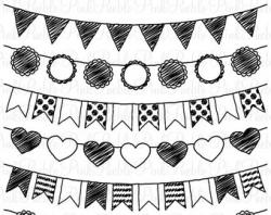 Western clipart bunting