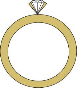 Ring clipart gold necklace