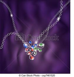 Pendent clipart neckless