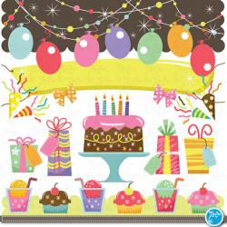 Iiii clipart birthday