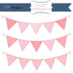 Pendent clipart pink triangle