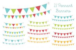 Pendent clipart weekend banner