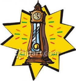Pendulum clipart grandfather clock