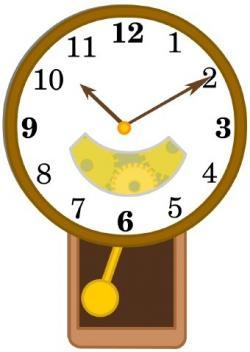 Pendulum clipart wall clock