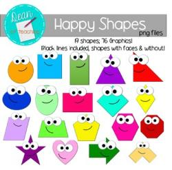 Squares clipart 2d shapes