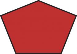 Polygon clipart square shape
