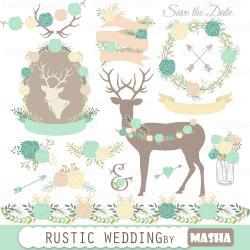 Rustic clipart rustic frame