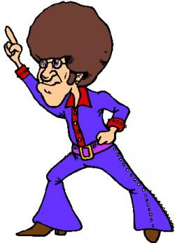 Man clipart disco