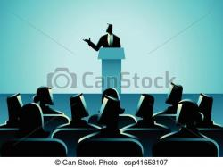 Audience clipart speech