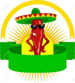 Tequila clipart mexican chili