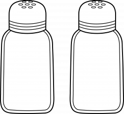 Grinder clipart salt and pepper
