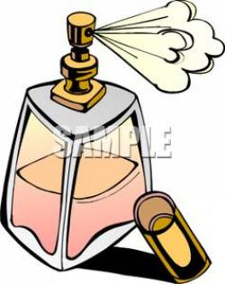 Perufme clipart perfume spray