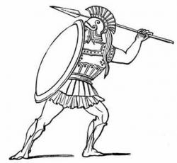 Persian clipart athens