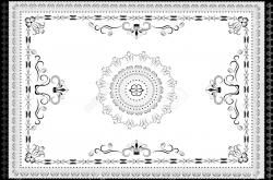 Oriental clipart rug