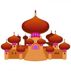 Persian clipart castle