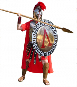 Roman Warriors clipart sparta