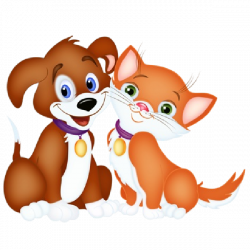 KITTENS clipart cat and dog
