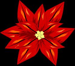 Poinsettia clipart cartoon