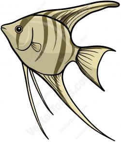 Angelfish clipart cartoon